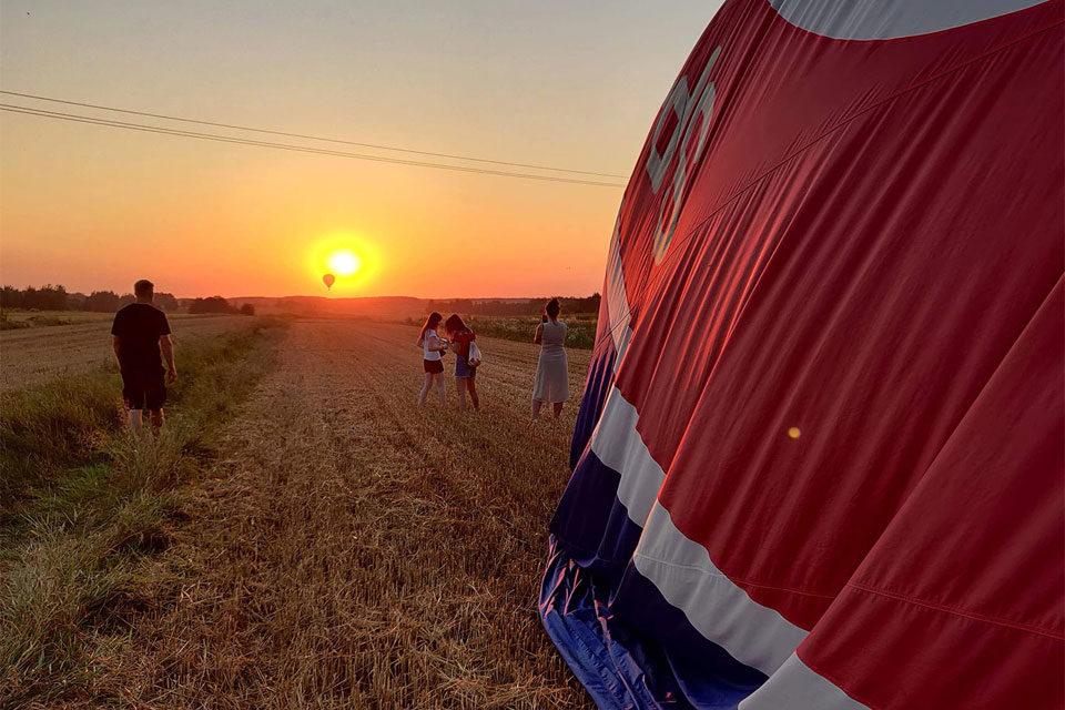 XV Międzynarodowe Zawody Balonowe w Nałęczowie