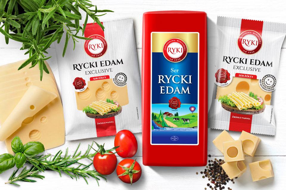 Kampania promocyjna sera Rycki Edam